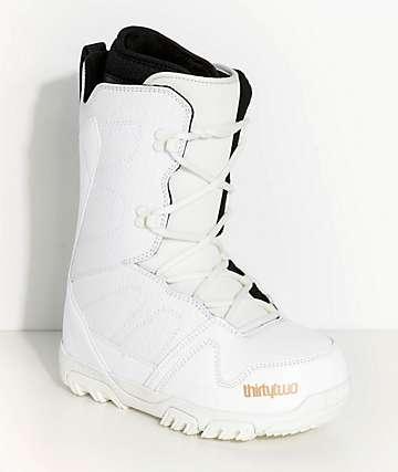 ThirtyTwo Exit botas de snowboard blancas para mujeres