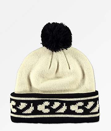 ThirtyTwo Factory Dirty White Beanie