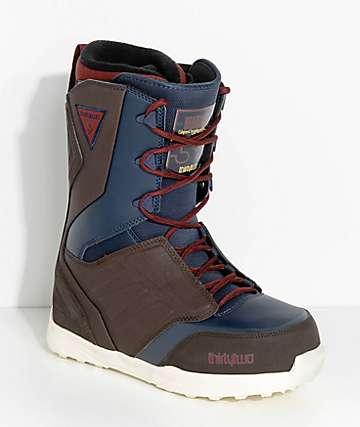 ThirtyTwo Lashed botas de snowboard azules y marrones