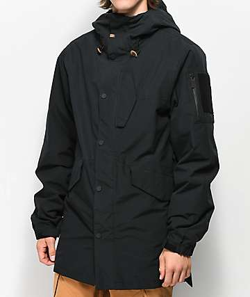 ThirtyTwo Lodger Black 10K Snowboard Jacket
