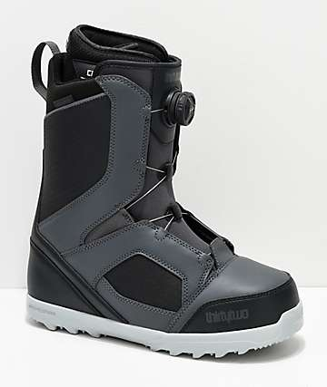 ThirtyTwo STW Boa Grey Snowboard Boots 2019