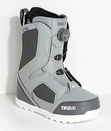 ThirtyTwo STW Boa botas de snowboard en gris