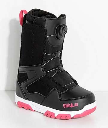 ThirtyTwo Shifty Boa botas de snowboard negras para mujeres