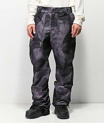 ThirtyTwo Sweeper 10K chaqueta de snowboard de camuflaje negro