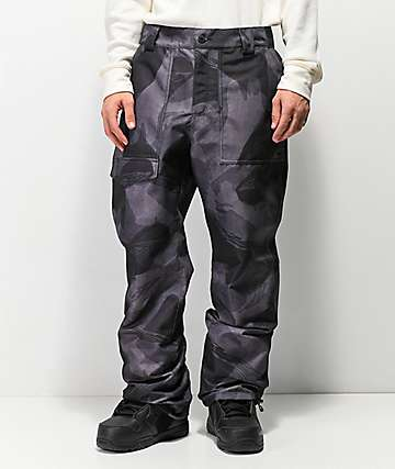 ThirtyTwo Sweeper Black Camo 10K Snowboard Pants