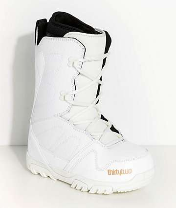ThirtyTwo Womens Exit White Snowboard Boots
