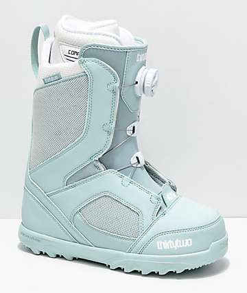 ThirtyTwo Womens STW Boa Mint Snowboard Boots 2019