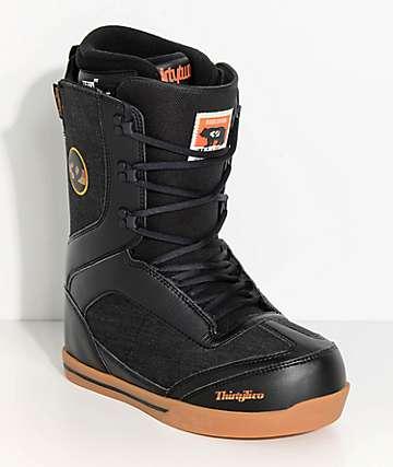 ThirtyTwo botas de snowboard de corte bajo en negro