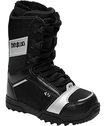 Thirtytwo Exus Black Womens Snowboard Boots