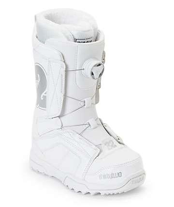 Thirtytwo STW BOA White Womens Snowboard Boots