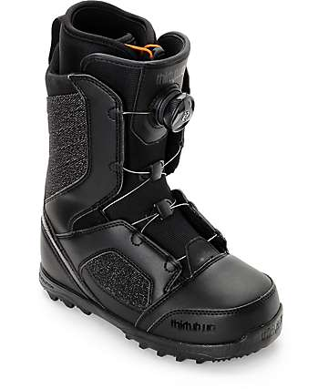 Thirtytwo STW Boa Black Womens Snowboard Boots