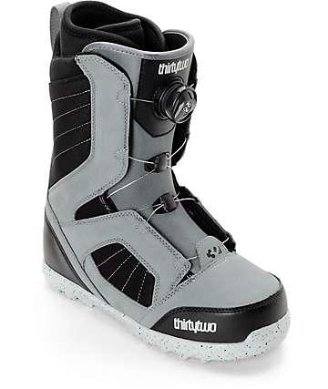 Thirtytwo STW Boa botas grises de snowboard