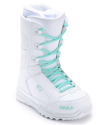 Thirtytwo Womens Summit White Snowboard Boot