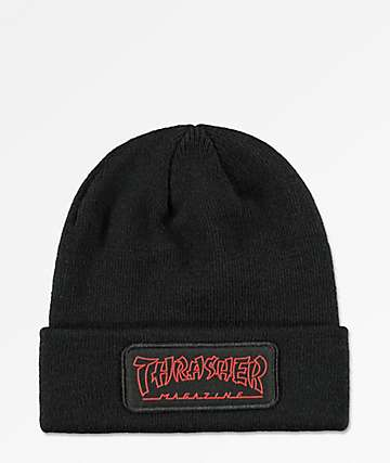 Thrasher China Banks Black Beanie