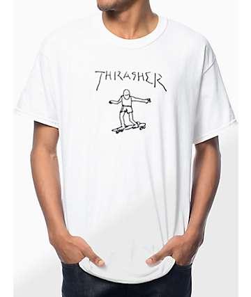 Thrasher Gonz White T-Shirt