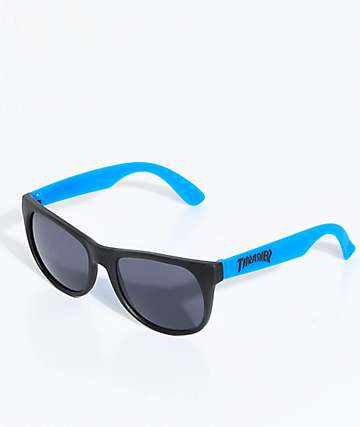 Thrasher Logo Blue Sunglasses