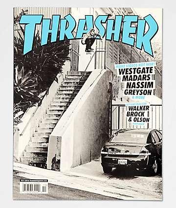 Thrasher Magazine  revista de octubre de 2018