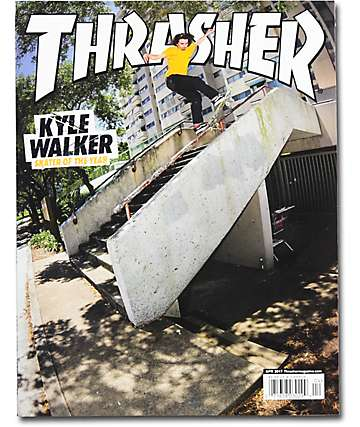 Thrasher Magazine April 2017