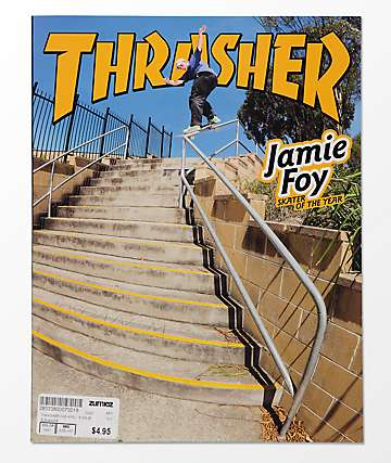 Thrasher Magazine April 2018
