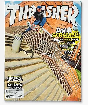 Thrasher Magazine August 2017