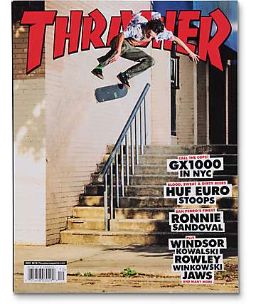 Thrasher Magazine December 2016