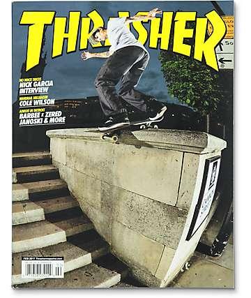 Thrasher Magazine February 2017