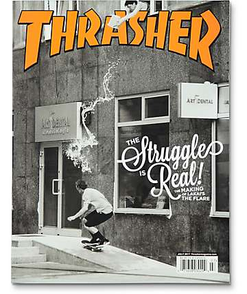 Thrasher Magazine July 2017