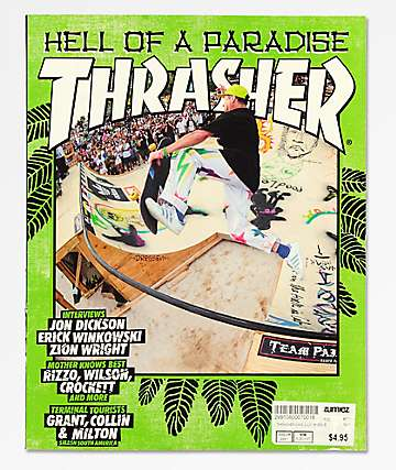 Thrasher Magazine July 2018