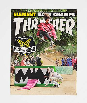 Thrasher Magazine November 2018