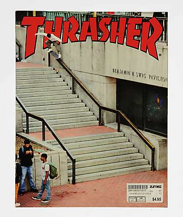 Thrasher Magazine revista de Agosto 2018
