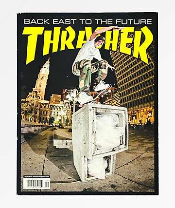Thrasher Magazine revista de Septiembre 2018