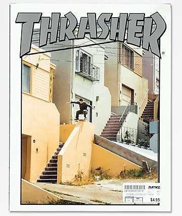 Thrasher Magazine revista de febrero de 2018