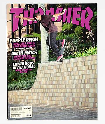 Thrasher Magazine revista de junio 2018