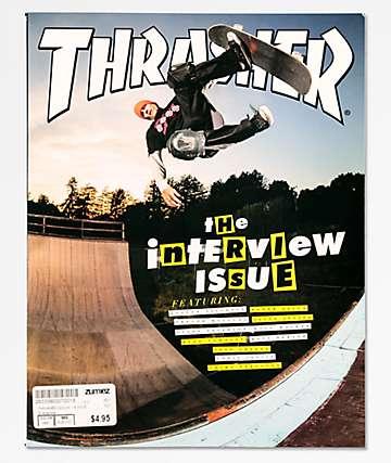 Thrasher Magazine revista de mayo de 2018
