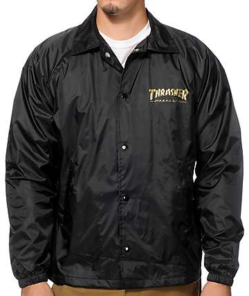 Thrasher Pentagram Coaches Jacket