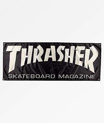 Thrasher Skate Magazine bandera