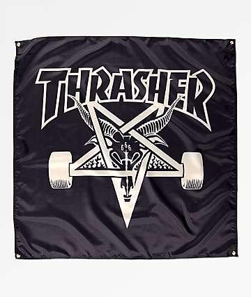 Thrasher Skategoat bandera