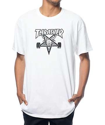 Thrasher Skategoat camiseta blanca