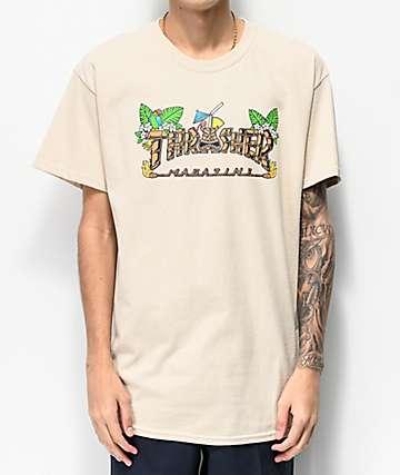 Thrasher Tiki Sand T-Shirt
