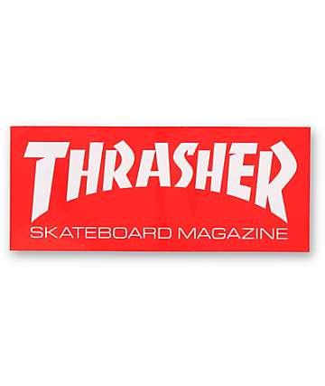 Thrasher pegatina Skatemag logo