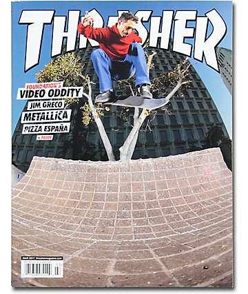 Thrasher revista marzo 2017