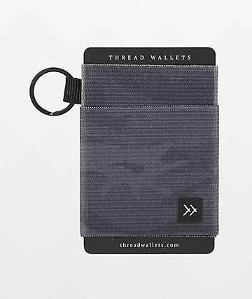 Thread Micah Black Key Ring Wallet
