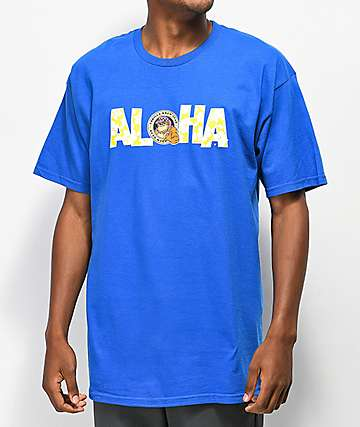 Thrilla Aloha Blue T-Shirt