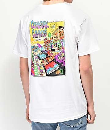 Thrilla Krew Coastal Chaos camiseta blanca