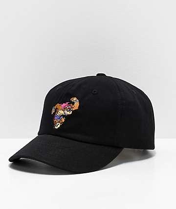 Thrilla Krew Jerks Black Strapback Hat