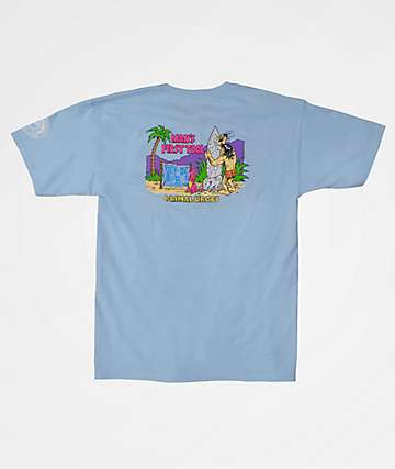 Thrilla Krew Man's First Tool Powder Blue T-Shirt
