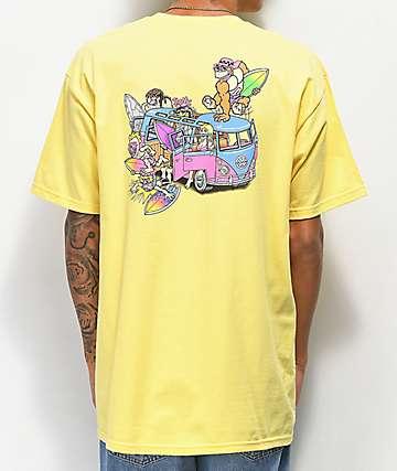 Thrilla Krew Microbus camiseta amarilla