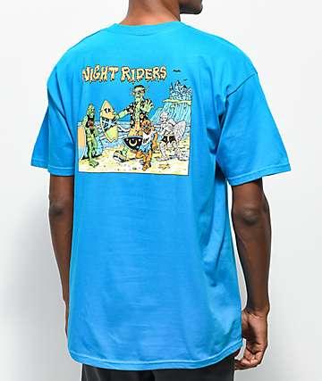 Thrilla Krew Nightrider camiseta turquesa
