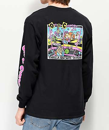 Thrilla Krew Out Of Control Black Long Sleeve T-Shirt