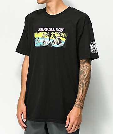 Thrilla Krew Rage All Night camiseta negra